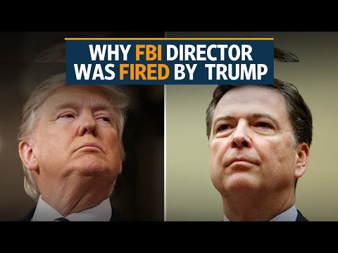 You are fired: Trump to FBI chief James Comey