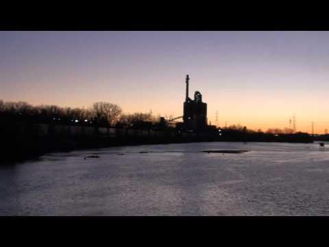 Joliet, River, Train, Power Plant