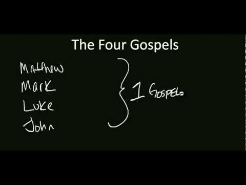 What Are the Names of the Four Gospels of the Bible?