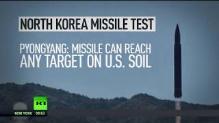 North Korea tests missile 'capable of reaching any target in the US'