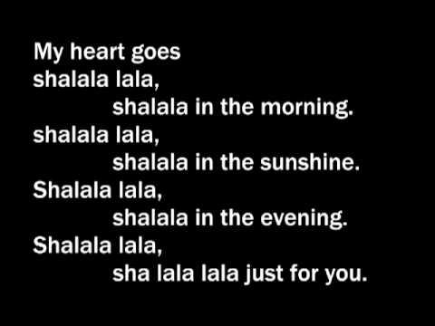 VENGABOYS - SHALALALA LALA LYRICS