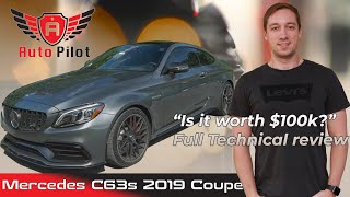 Mercedes AMG C63 S coupe 2019 Review | How is it different from the 2018 year? | Owner review