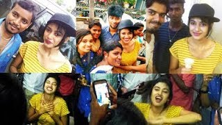 EXCLUSIVE !!! OVIYA in City Centre with FANS !!!