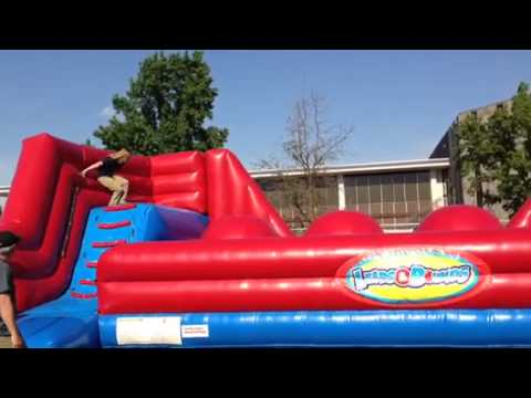 Inflatable Wipe Out Big Baller