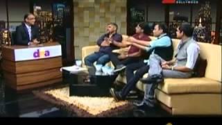 Swanand Kirkire,  Amitabh Bhattacharya, Mayur Puri & Kumaar With Komal Nahta