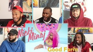 Nicki Minaj Good Form Ft Lil Wayne Reaction