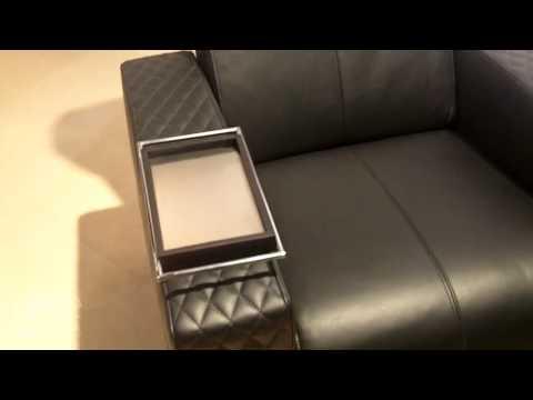 ISE 2015: Cineak Exhibits the Ferrier Recline Motorized Cinema Seat