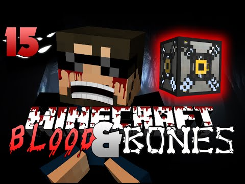Minecraft FTB Blood and Bones 15 - MACHINE FRAME(Minecraft Mod Survival FTB)