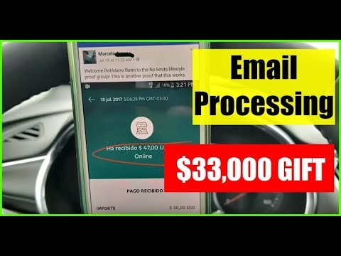 Email Processing System 2017 & 2018 - How to Make Money Online With Email Processing!