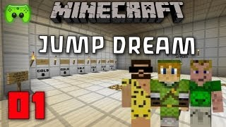 MINECRAFT Adventure-Map # 01 - Jump Dream «» Let's Play Minecraft | HD