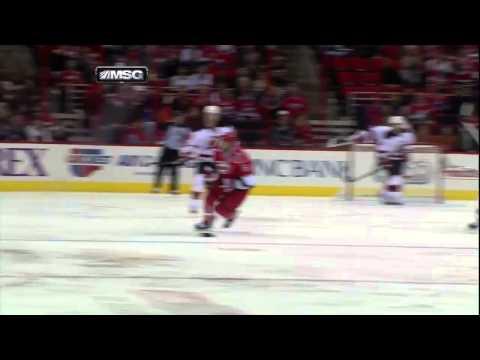 Martin Brodeur's 3rd Career Goal vs Carolina - 03/21/2013