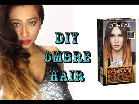 DIY OMBRE Hair Colour Tutorial (L'oreal Preference Wild Ombre Kit)