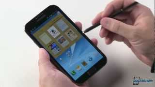 Samsung Galaxy Note II (US) Hands-On & Feature Walkthrough