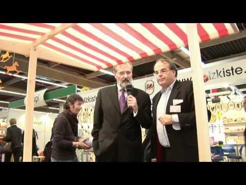 Reinhard Flötotto trifft...Pinolino | Kindermöbel, Schaukelpferd Öko-Test - Spielwarenmesse