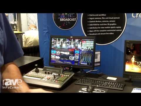 InfoComm 2014: Broadcast Pix Talks About New Flint LE, LX and LS Switchers with ClearKey Chromakeyer