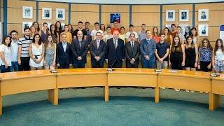 El Villarreal, con los deportistas de élite de la UJI