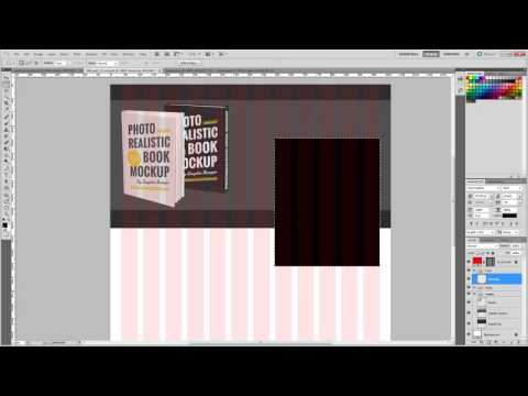 Designing a landing page mock up using Photoshop