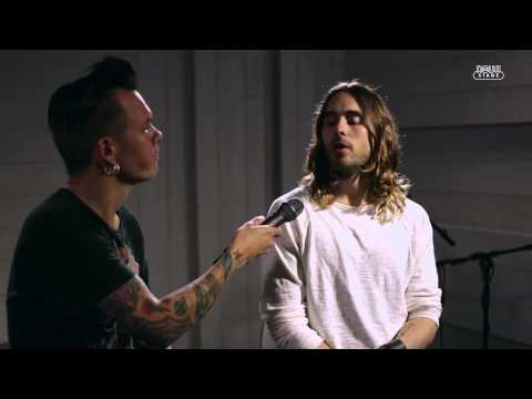 30 Seconds To Mars acoustic: City of Angels, Hurricane & interview, HD (live at Radio Nova)