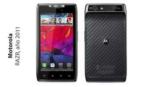 History of Motorola Mobile Phones (1997-2014)