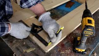 How to build a simple saw horse