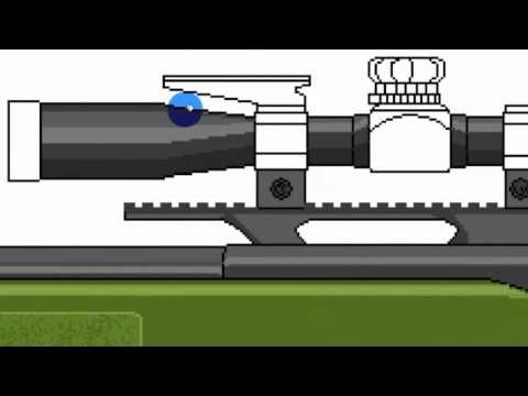 MS Paint - Speed drawing a M40A3 Sniper Rifle