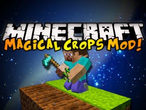 Minecraft Magical Crops Mod