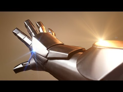Iron Man Inspired Armor Tutorial (in Metal )