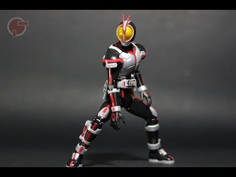 Toy Review: Figure-rise 6 Kamen Rider Faiz video