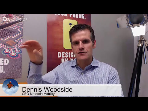 MKBHD Hangout with Motorola CEO Dennis Woodside!