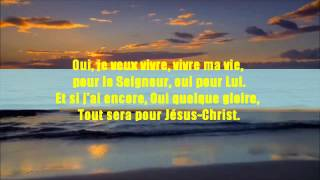 À Dieu soit la gloire (avec paroles) - My tribute in French