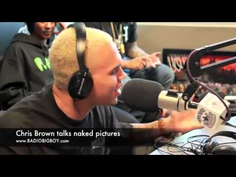 Chris Brown Leaked Naked Picture Interview video