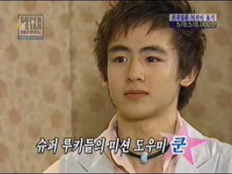 Junho meet khun in Superstar Survival
