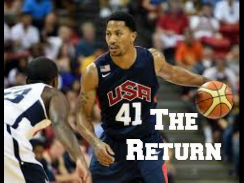 Derrick Rose Team USA Mix 2014 HD