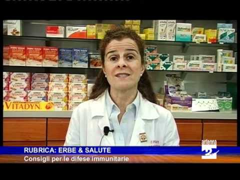 Rubrica erbe e salute consigli naturali per il sistema immunitario Antenna 2 TV 200112.mpg