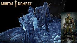 Mortal Kombat 11 - Where To Find Reptile Again (Scorpion Forest Ninja Skin Reward)