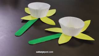 Spring Crafts for Kids: DIY Paper Flower Craft