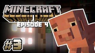 Minecraft: Story Mode Episode 4: SADDEST ENDING EVER!   Part 3