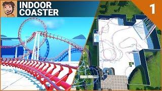 COASTER BUILD | Dark Ride | Part 1 (Planet Coaster)