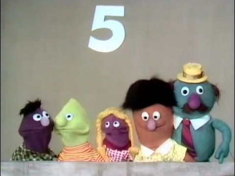 Sesame Street - Five Monsters In My Family