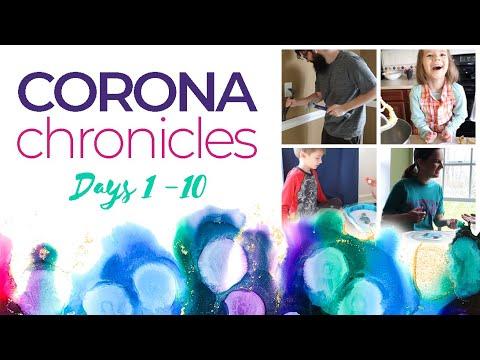 DAYS 1-10 | Both kids are sick (our quarantine adventures)