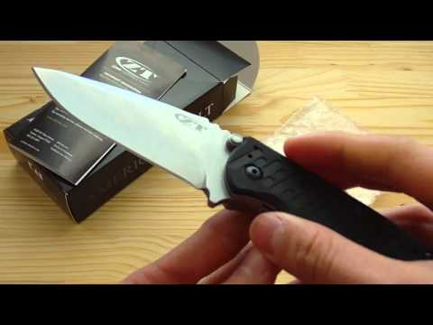 Unboxing: Zero Tolerance 0550 Rick Hinderer