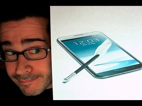 Samsung Galaxy Note 2 Unboxing  &  Initial Impressions