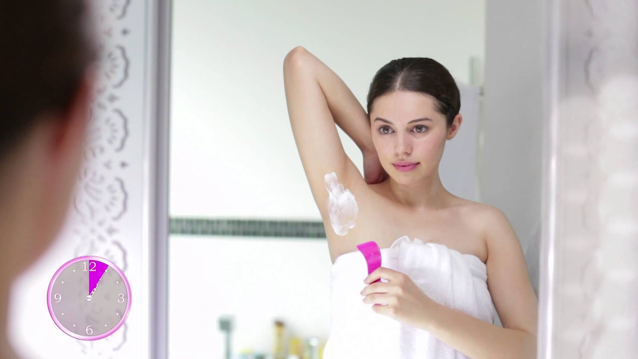 Demo Video For Using Veet Hair Removal Cream For Underarms