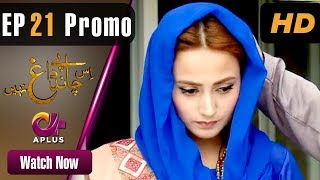 Drama | Is Chand Pe Dagh Nahin - Episode 21 Promo | Aplus ᴴᴰ Dramas | Zarnish Khan, Firdous Jamal
