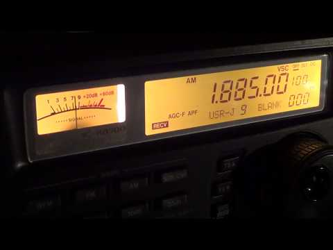 160 meters amateur radio stations in AM mode