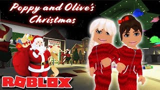 POPPY AND OLIVE SAVE CHRISTMAS! | Bloxburg Film | Roblox