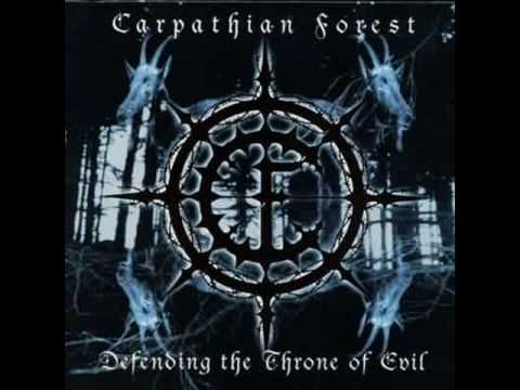 Carpathian Forest - Nekrophiliac Anthropophagus Maniac