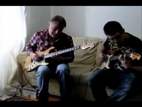 Elliott Randall and Scott Riley - AcmeBarGig Head Case Jam