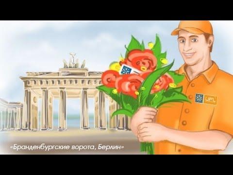 Доставка цветов Берлин - U-F-L.net Цветы в Берлин