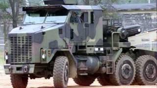 HET (Heavy Equipment Transporter) Military Convoy / C.W. McCall